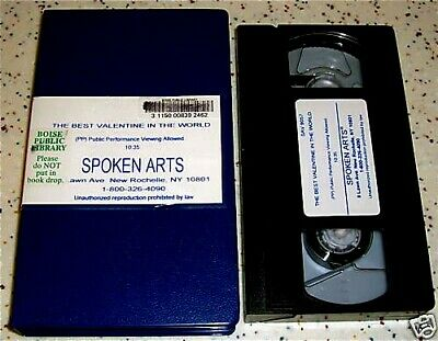 The Best Valentine in the World VHS Marjorie Weinman Sharmat and Lilian (The Best Vhs In The World)
