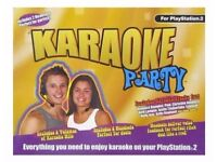 Karaoke Party Console for Sony PlayStation 2, 2003. Christmas present house clearance