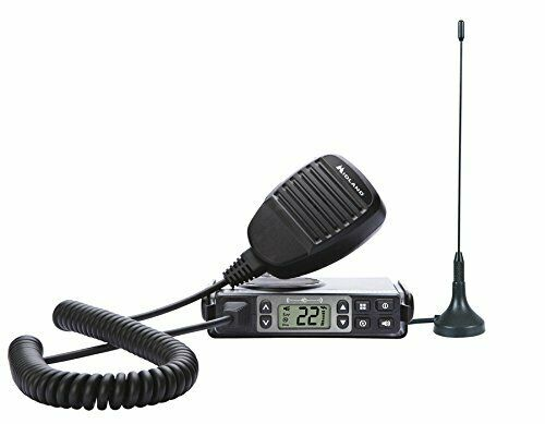 Midland MXT105 GMRS Two-Way Radio w/ 15 Channels & 142 Privacy Codes