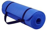YogaYogee Premium Quality Yoga/Pilates Mat 12mm Thick with Carry Strap 180cm x 60cm
