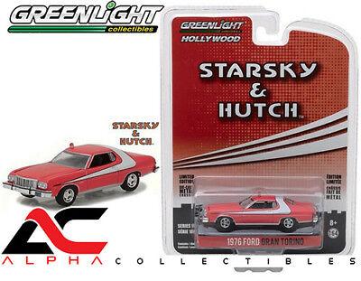 1976 Ford Gran Torino - GREENLIGHT 44780-A 1:64 1976 FORD GRAN TORINO STARSKY AND HUTCH (1975-1979 TV