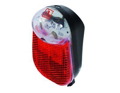 Fahrrad Rücklicht Standlicht  3x LED's Dynamobetrieb mit Kondensator Schutzblech 3 X Licht
