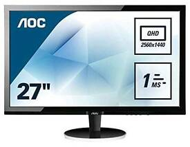 """27"""" 1440p PC Monitor for sale"""