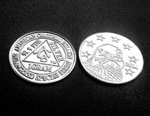 1 Gram Silver Coin Ebay