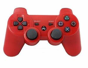 Xtenzi Doubleshock Wireless Replacement Controller for PlayStation 3 (Red)