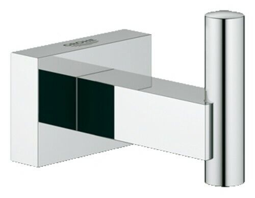 Grohe 40 511 1 Chrome Essentials Cube Robe Hook