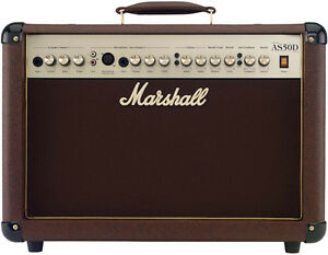 Amplificateur de guitare acoustique Marshall AS50D 50W