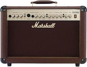Amplificateur de guitare acoustique Marshall AS50D 50W