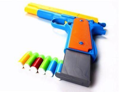 Hot Style Toy Gun Classic Colt Pistol m1911 Kids Dart Guns Soft Bullet Outdoor