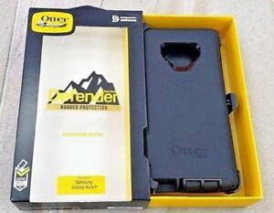 GALAXY NOTE 9   , OTTER BOX DEFENDER.. BLACK ONLY AND 4 COLORS LEATHER CASES