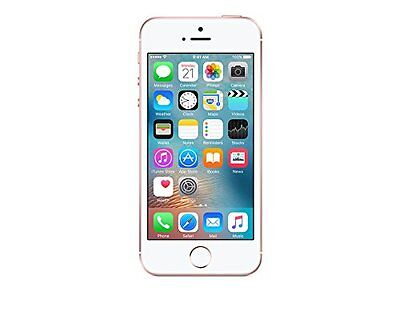 New Sealed Apple iPhone SE 16GB - Rose Gold (Simple Mobile) Smartphone