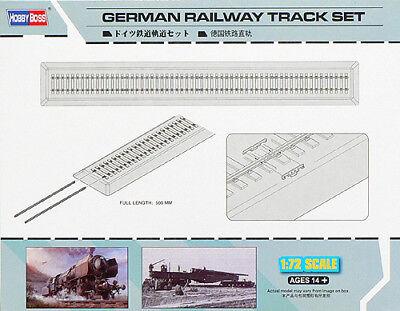 HobbyBoss 1/72 German Railway Track Set # 82902 @