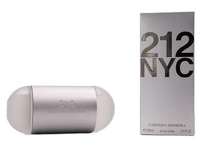212 by Carolina Herrera * Perfume for Women * 3.4 oz * BRAND NEW IN RETAIL BOX