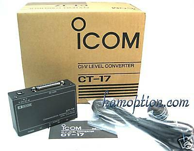 Used, NEW ICOM CT-17 CI-V CONVERTER for IC-7000 IC-706MKIIG IC-7410 IC-9100 IC-R20 for sale  Shipping to United States