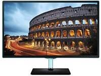 "Samsung 27"" LED SMART WI-FI FULL HD 1080P TV MONITOR HD FREEVIEW USB"