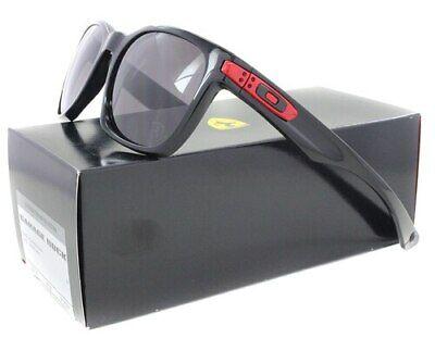 Oakley Sunglasses Limited Ferrari Garage Rock Polished Black w/Warm Grey 9175-34