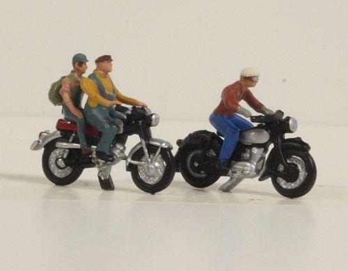 36904 NOCH Motorradfahrer Spur N