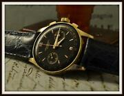 Geneve Mens Gold Watch