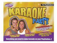 Karaoke Party Console for Sony PlayStation 2, 2003 - Vintage Rare BNIB
