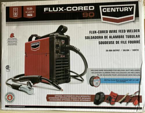 Century FC90 Flux Cored Wire Feed Welder & Gun K3493-1 - NEW SEALED IN BOX