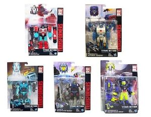 Transformers Generations Titans Return Deluxe Class Figures