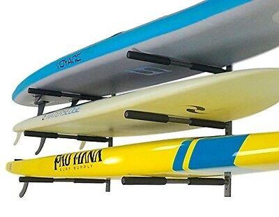 SUP Rack | 3 Paddleboard Wall Storage | StoreYourBoard | NEW