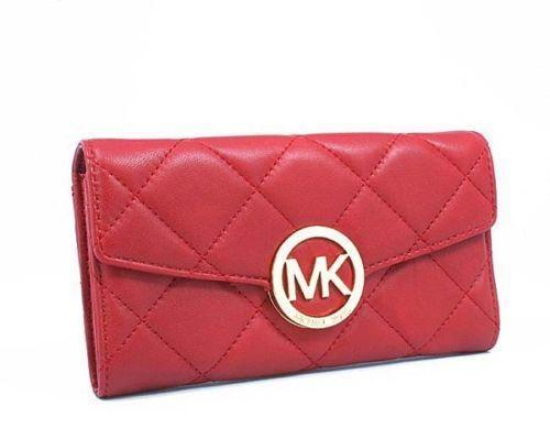 Michael Kors Red Wallet  34e25b9b2