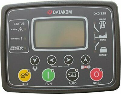 Datakom Dkg-329 Generator Mains Automatic Transfer Switch Control Panel Ats