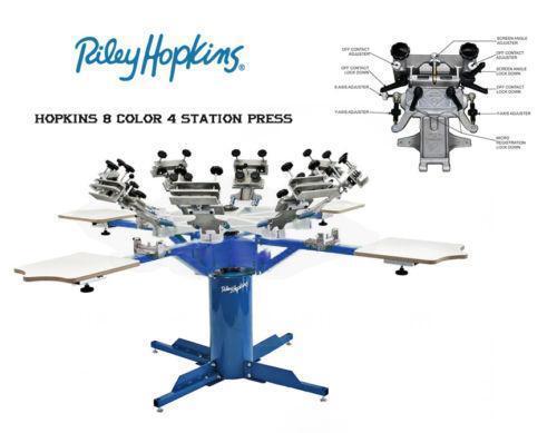 Used Screen Printing Press Ebay