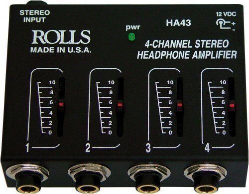 ROLLS HA43 Pro Headphone Amplifier