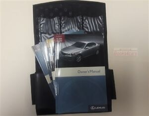 2007 IS350 IS250 LEXUS OWNERS MANUAL OWNERu0027S BOOK