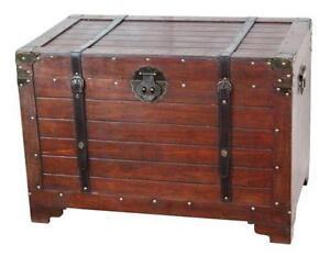 Old Wooden Trunks  sc 1 st  eBay & Wooden Trunk   eBay