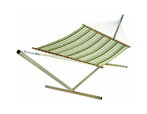 the pawleys island 15dccb also known as the trellis garden large quilted hammock it also is made of duracord fabric thatu0027s stitched over a plush - Pawleys Island Hammock