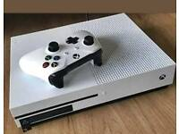 Brand new x box one s with 2 controller.