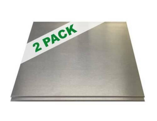 """2 PACK - 1/4"""" .250 Aluminum Sheet Plate 6"""" x 6""""  6061 Flat Stock Savings"""