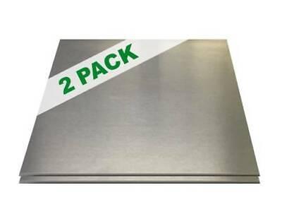 2 Pack - 14 .25 Aluminum Sheet Plates 12 X 12 6061 Diy