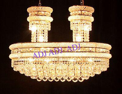 Palace Boat 23 Light Crystal Chandeliers Light Chrome-precio Mayorista