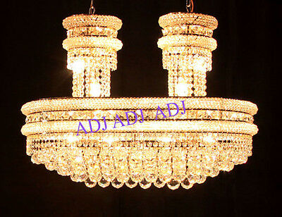Palace Oval 22 Light Crystal Chandeliers Light Chrome - Precio Mayorista