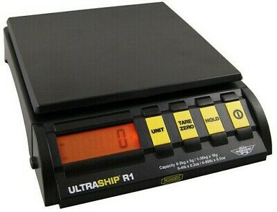 Paketwaage Myweigh Ultra Ship R1-80 - Versandwaage 36kg10g 0-1kg5g