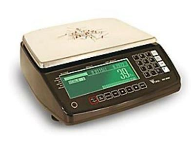 Rice Lake Digi Dc-530 Counting Scale 20 X0.0002 Lb Platter 13x9.54 Rs232new