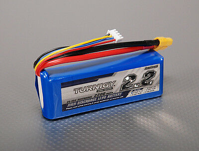 Turnigy 2200mAh 3S 25C 35C Lipo Battery Pack E-Flite Blade 450 E325  XT60 (35c Lipo Pack)