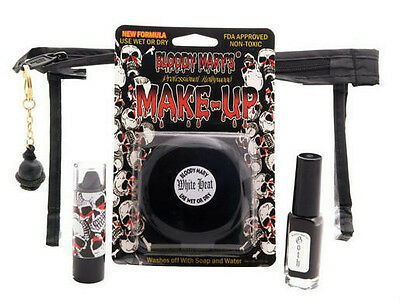 Bloody Mary Professional Goth White Heat Makeup Kit - Bloody Makeup