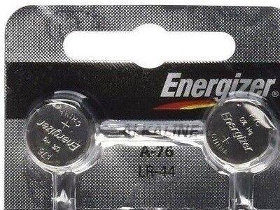 FRESH Energizer A76 LR44 AG13 L1154 G13 V13GA Alkaline Button Batteries