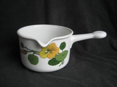 Kaffeet. Thomas Scandic Flower Flowers Kapuzinerkresse die Untertasse 13,5 cm