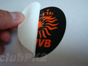 Soccer World Netherlands KNVB Full Color Inside Window Decal Sticker NEW !!!