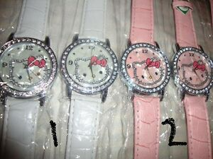 HELLOKITTY WATCHES IN Pink WHITE_BLACK Buy 1 get 1 FREE