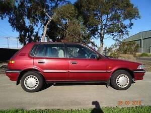 1993 Toyota Corolla Hatchback Richmond Yarra Area Preview