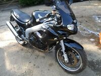 2003 Triumph RS Sprint 955i in black with low mileage