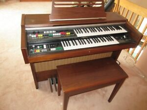 Yamaha Electone organ and piano