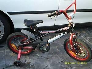KIDS 16 INCH BMX STYLE BIKE WITH TRAINER WHEELS $20 Rockingham Rockingham Area Preview